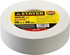 Лента углозащитная Stayer Master бумажная, 90м х 48мм 12476-50-90