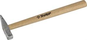 Слесарный молоток ЗУБР Мастер деревянная рукоятка, 100г 20015-01