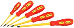 Набор диэлектрических отверток Stayer Professional-Max Grip 5шт 25830-H5 G