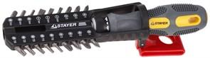 Отвертка с набором бит Stayer Max Grip 1/4 19шт 25921-H19 G