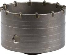 Коронка по бетону ЗУБР без оснастки, 100мм 29180-100