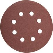 """Шлифовальный круг Stayer """"MASTER"""" абразивный, 8 отверстий, P80 115мм 5шт 35450-115-080"""