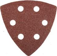 """Шлифовальный треугольник Stayerr """"MASTER""""  перфорированный, P60, 93мм 5шт 35460-060"""