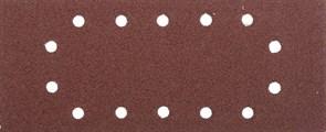 """Шлифовальный лист Stayer """"MASTER"""" 14 отверстий, P40, 5шт 115x280 35469-040"""