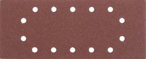 """Шлифовальный лист Stayer """"MASTER"""" 14 отверстий, P80, 5шт 115x280 35469-080"""