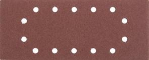 """Шлифовальный лист Stayer """"MASTER"""" 14 отверстий, P120, 5шт 115x280 35469-120"""