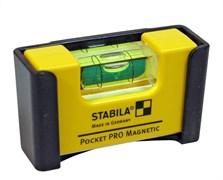 Магнитный уровень Stabila Pocket Pro Magnetic 17768
