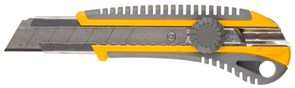 """Строительный нож Stayer """"Professional"""" сегментированный 25мм 09141"""