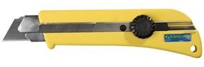"""Строительный нож Stayer """"Professional"""" сегментированный 25мм 09173"""