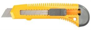 """Строительный нож Stayer """"Standard"""" сегментированный 18мм 0911"""