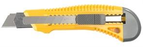 """Строительный нож Stayer """"Standard"""" сегментированный 18мм 0913"""