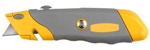 """Строительный нож Stayer """"Professional"""" сегментированный 19мм 09233"""