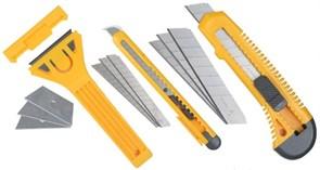 """Набор строительных ножей Stayer """"Standard"""" со скребком 6 предметов 0941"""