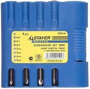 Набор отверток Stayer Mini 8шт 2536-H8_z01