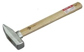 Слесарный молоток ЗУБР оцинкованный, деревянная ручка, 200г 4-20013-02