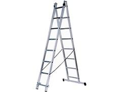 Алюминиевая двухсекционная лестница Зубр 2х7 38821-07