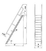 Удлинение платфорым Krause 225мм/1000мм 827623