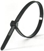 Кабельная нейлоновая стяжка Передовик черная, 3,6х150 100шт 32203