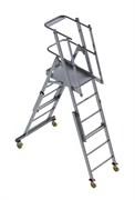 Телескопическая лестница-платформа ТЛП - (1,9-3,3)