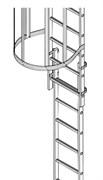 Алюминиевая пожарная лестница Zarges Z600 42446